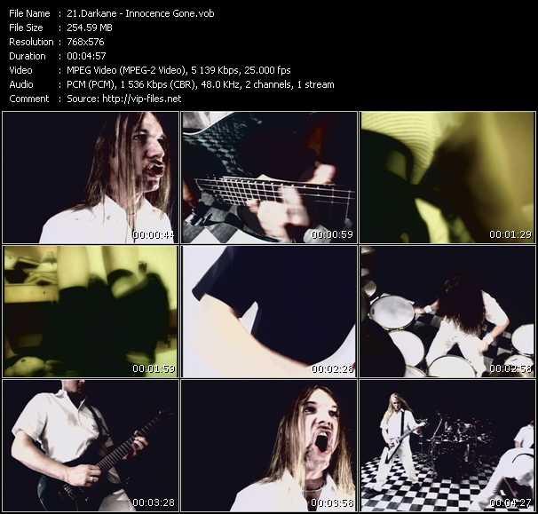 Darkane video screenshot