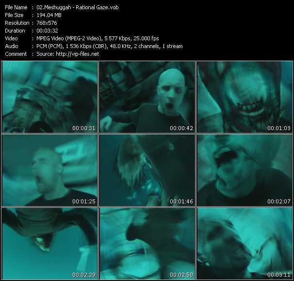 Meshuggah video screenshot