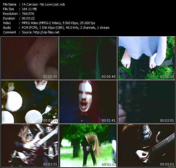 Carcass video screenshot