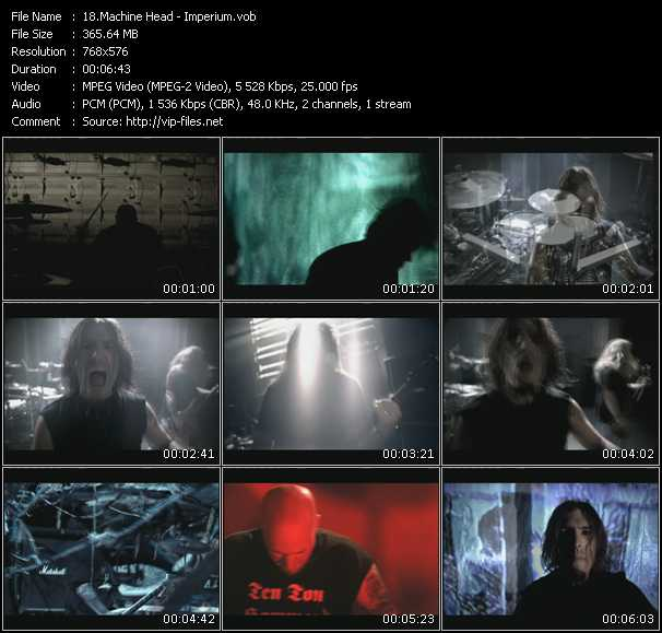 Machine Head video screenshot