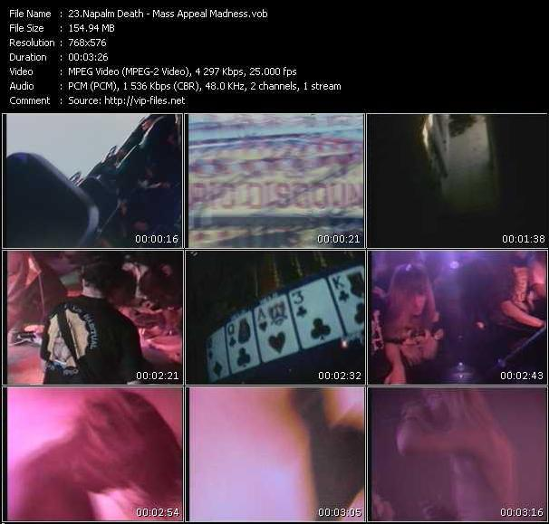Napalm Death video screenshot