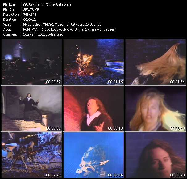 Savatage video screenshot