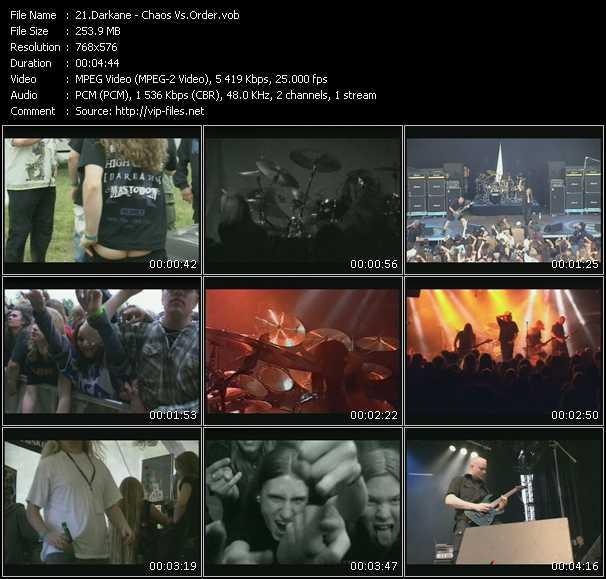 video Chaos Vs.Order screen