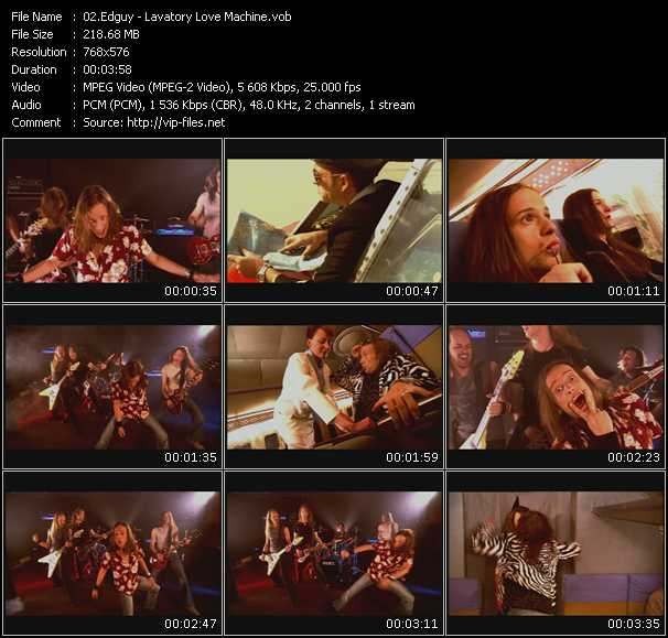 Edguy video screenshot