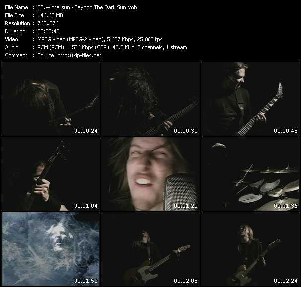 Wintersun video screenshot