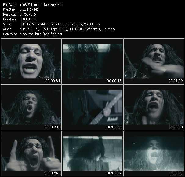 Ektomorf video screenshot