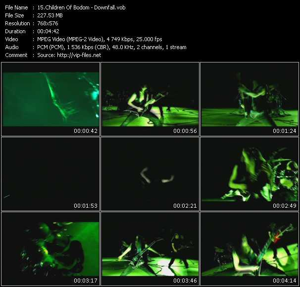 Children Of Bodom video screenshot
