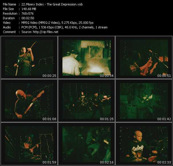 Misery Index video screenshot