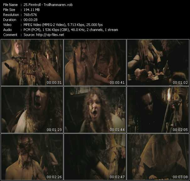 Finntroll video screenshot