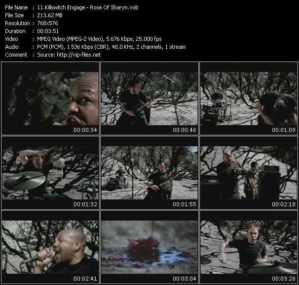 Killswitch Engage video screenshot