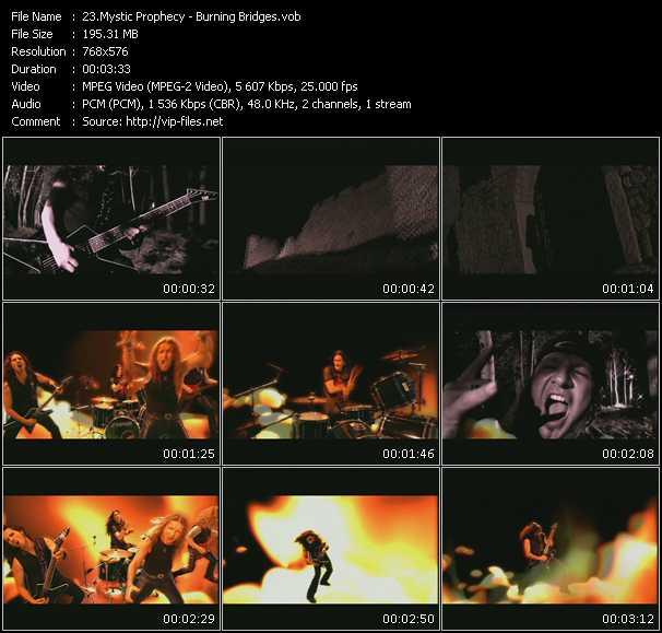 Mystic Prophecy video screenshot