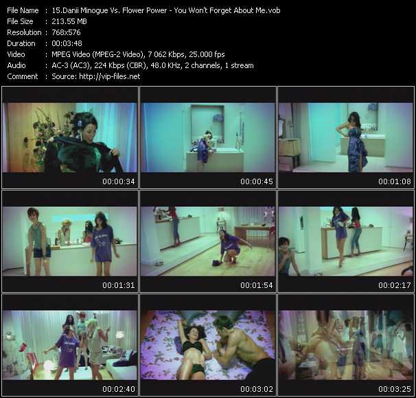 Danii Minogue Vs. Flower Power video screenshot