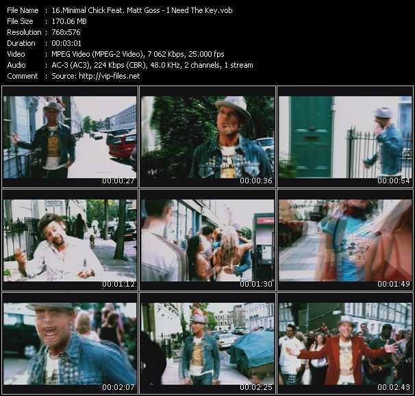 Minimal Chic Feat. Matt Goss video screenshot