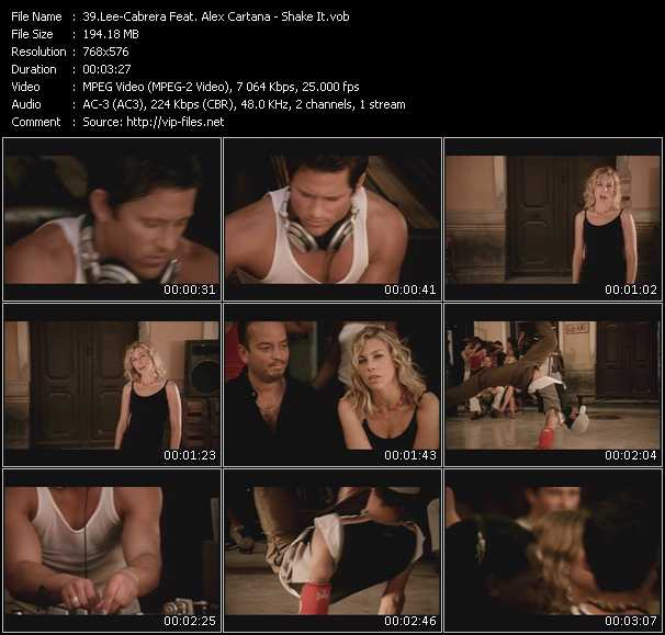 Lee-Cabrera Feat. Alex Cartana video screenshot
