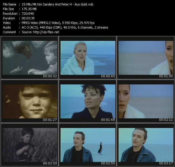 Milu Mit Kim Sanders And Peter Heppner video screenshot