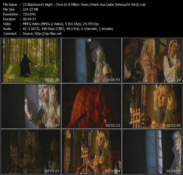 Blackmore's Night video screenshot