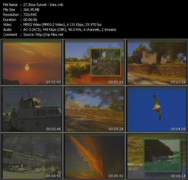 Ibiza Sunset video screenshot