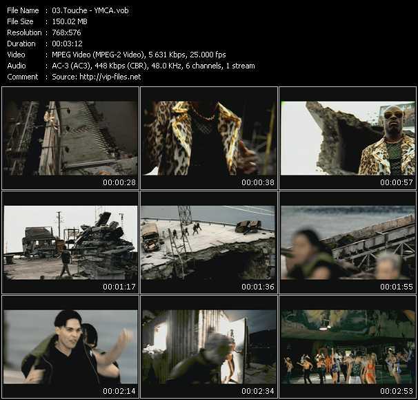 Touche video screenshot