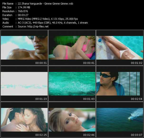 Shana Vanguarde video screenshot