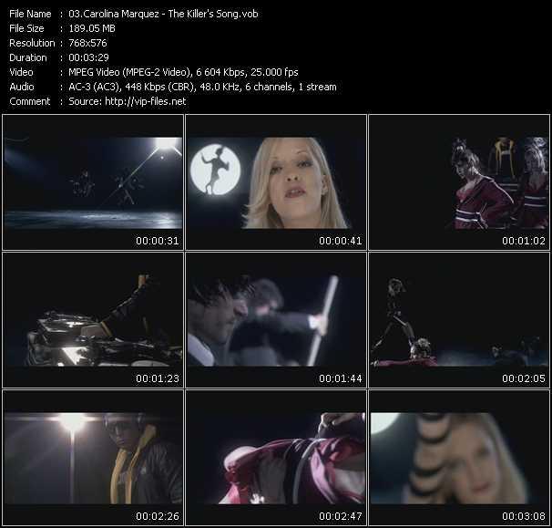 Carolina Marquez video screenshot