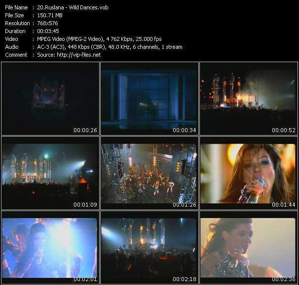 Ruslana video screenshot