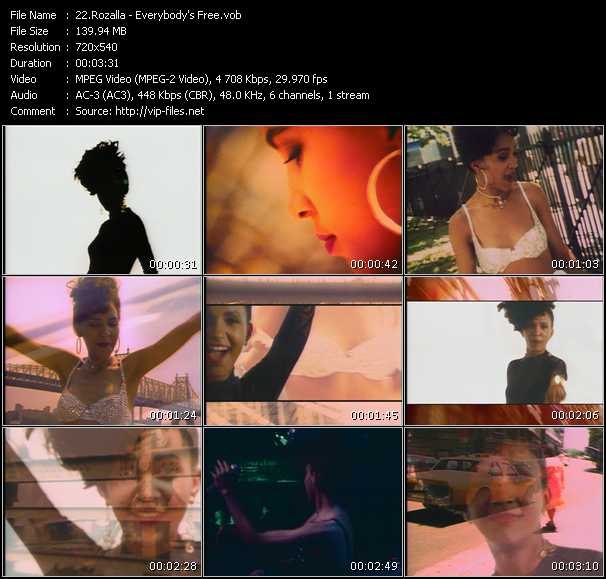 Rozalla video screenshot