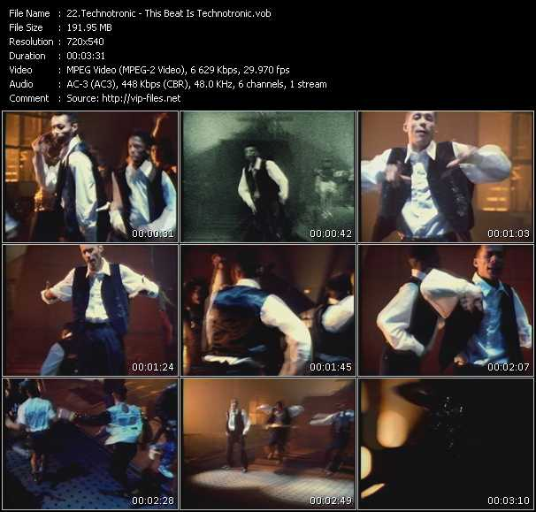 Technotronic video screenshot