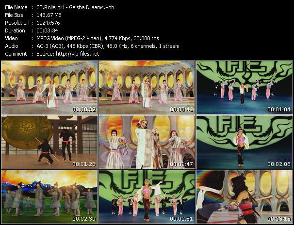 Rollergirl video screenshot