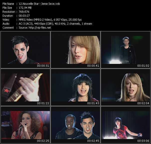 Nouvelle Star video screenshot