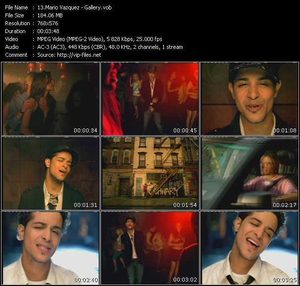 Mario Vazquez video screenshot