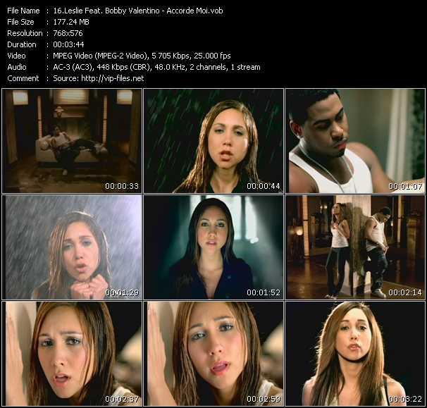 Leslie Feat. Bobby Valentino (Bobby V) video screenshot