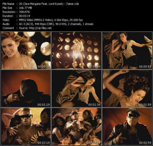 Clara Morgane Feat. Lord Kossity video screenshot