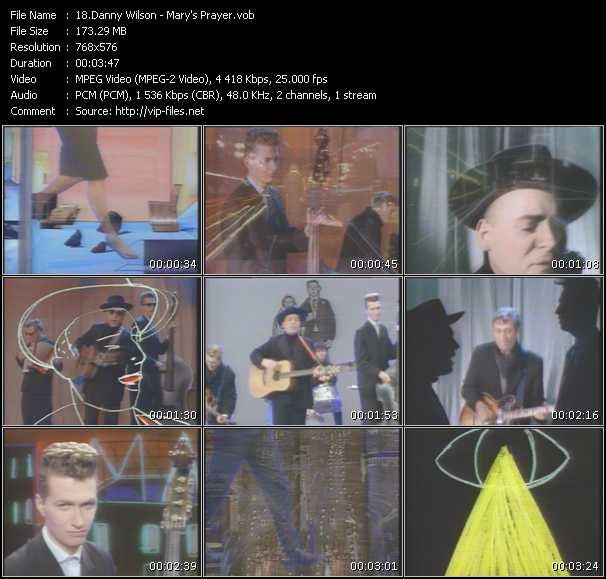 Danny Wilson video screenshot