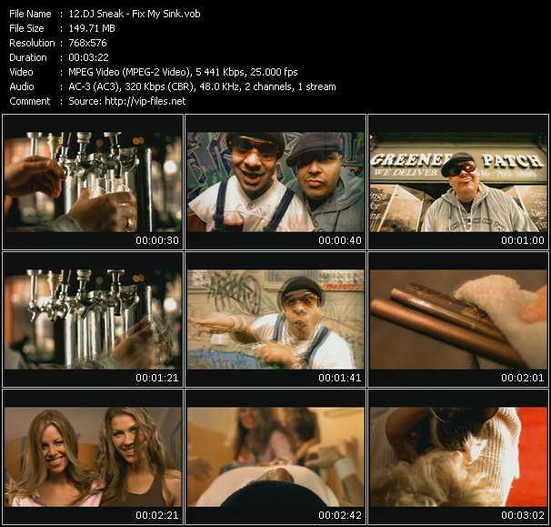 Dj Sneak video screenshot