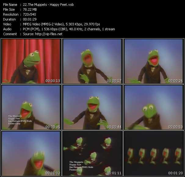 Muppets video screenshot