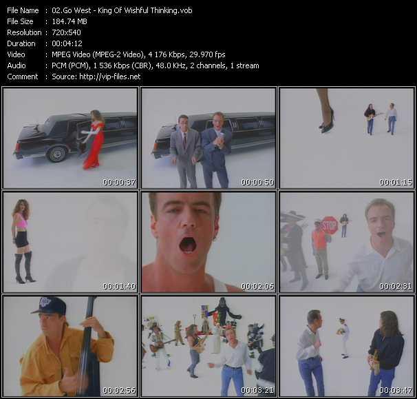 video King Of Wishful Thinking screen