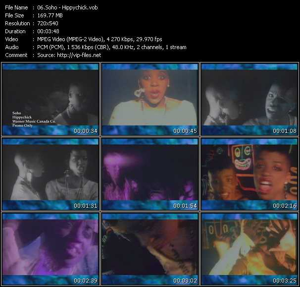Soho video screenshot