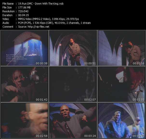 Run DMC video screenshot