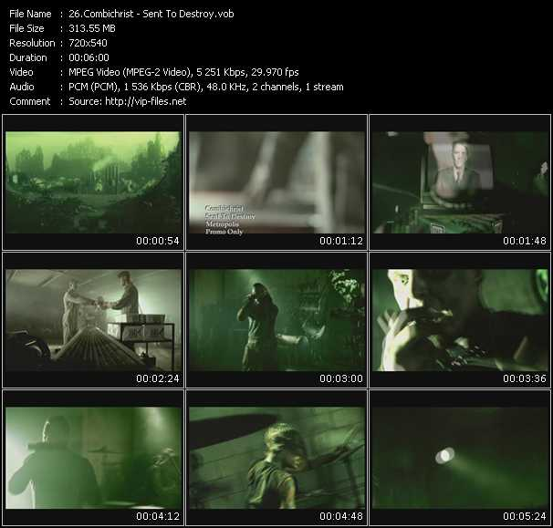 Combichrist video screenshot