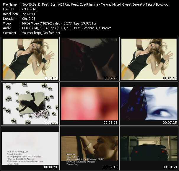 BenDj Feat. Sushy - DJ Rad Feat. Zoe - Rihanna video screenshot