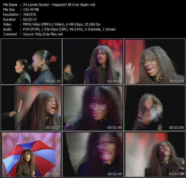 Lonnie Gordon video screenshot