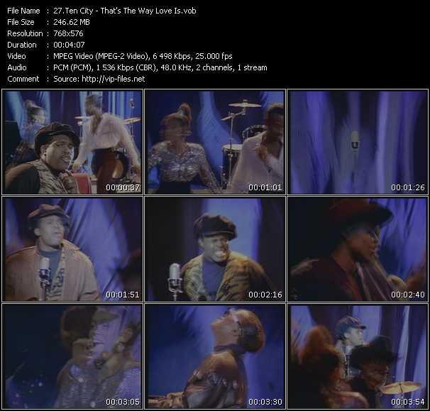 Ten City video screenshot