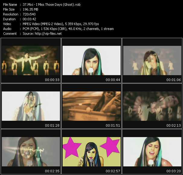Mixi video screenshot