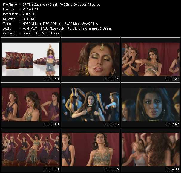 Tina Sugandh video screenshot