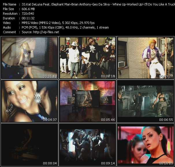 Kat DeLuna Feat. Elephant Man - Brian Anthony - Geo Da Silva video screenshot