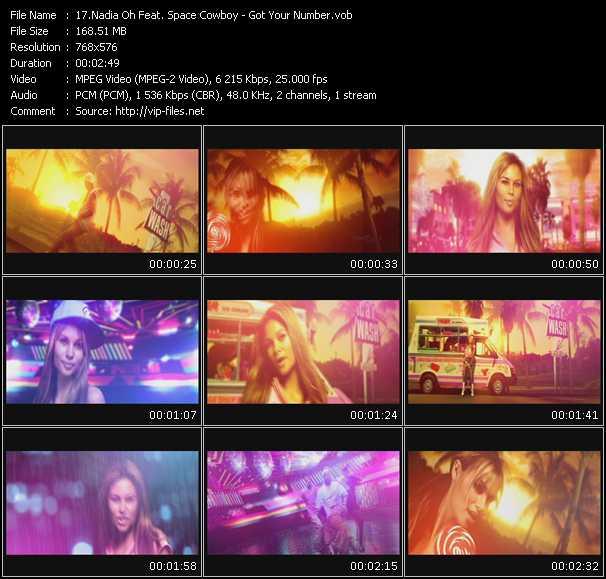 Nadia Oh Feat. Space Cowboy video screenshot