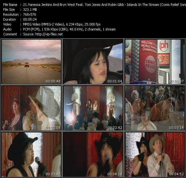 Vanessa Jenkins And Bryn West Feat. Tom Jones And Robin Gibb video screenshot