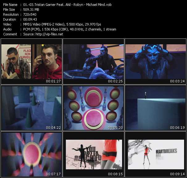 Tristan Garner Feat. Akil - Robyn - Michael Mind video screenshot