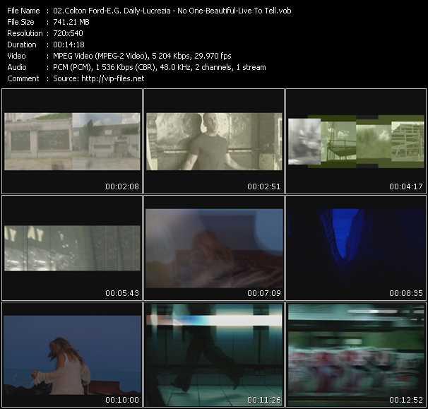 Colton Ford - E.G. Daily - Lucrezia video screenshot