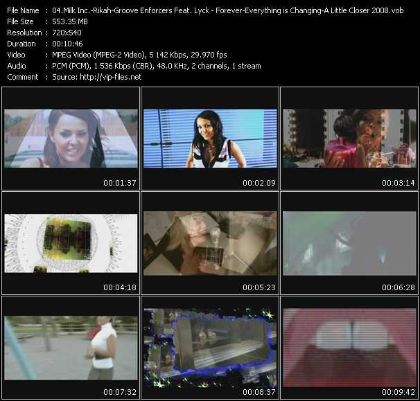 Milk Inc. - Rikah - Groove Enforcers Feat. Lyck video screenshot